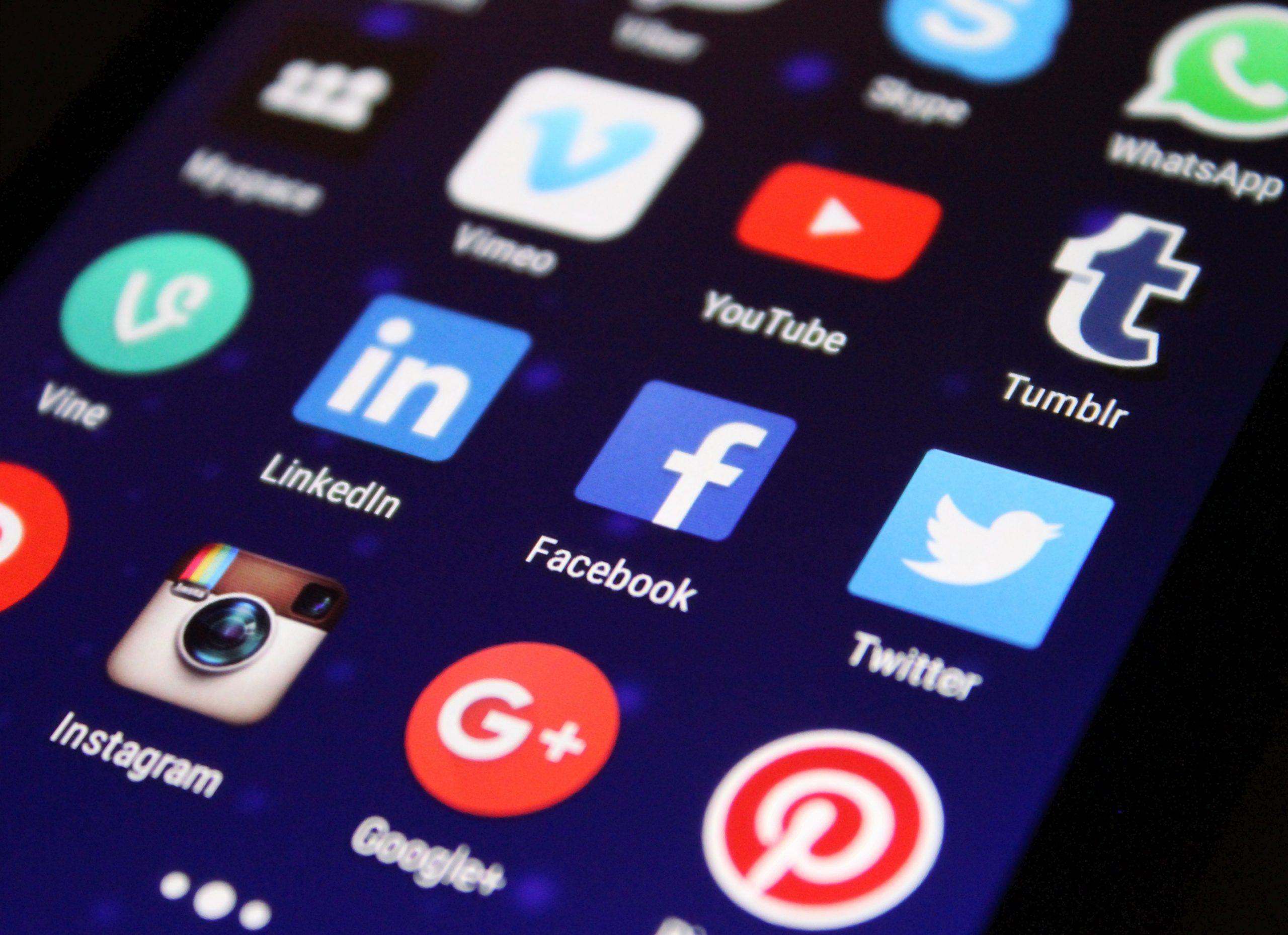 Dimensões de imagens para as Redes Sociais