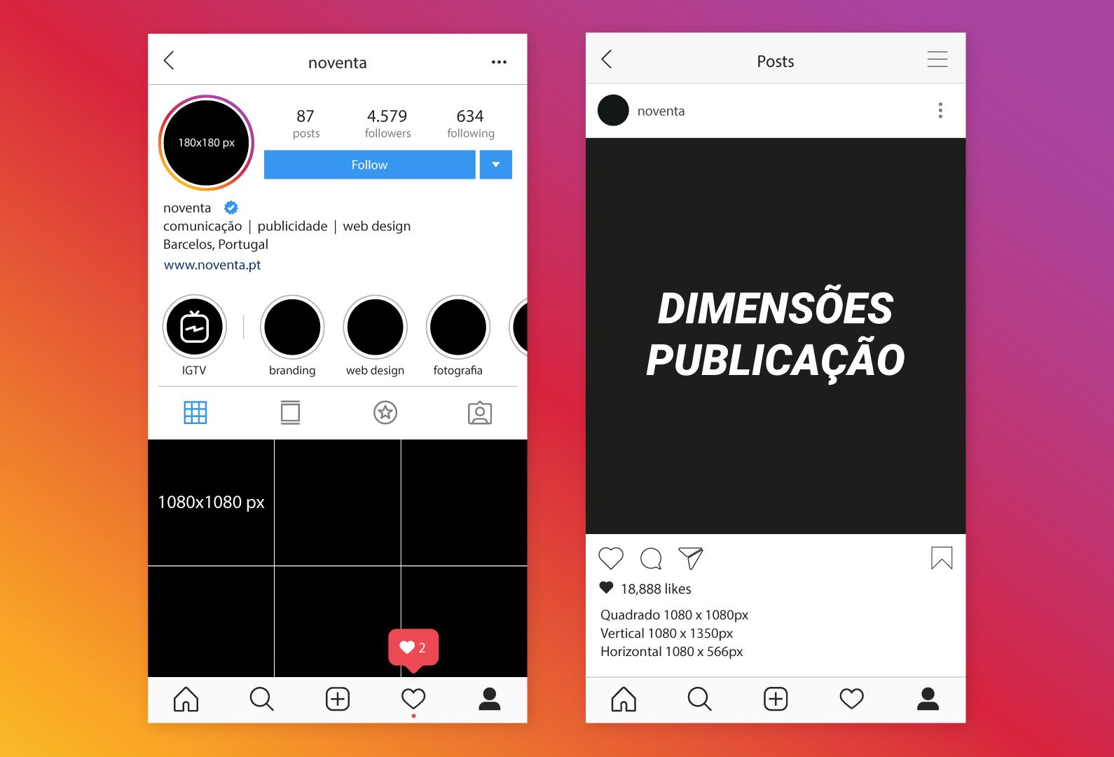 noventa-redes-sociais-dimesão-publicações-instagram